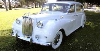Wedding car hire yorkshire | Austin Princess 1961 - 7 seater