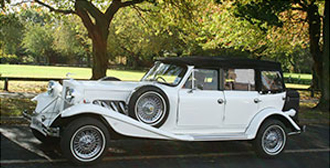 Yorkshire Wedding Car Hire | Beauford 1930s