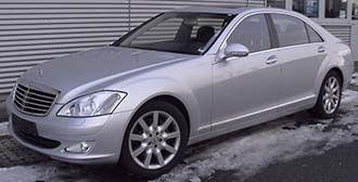 Mercedes S Class | Yorkshire Chauffer Services